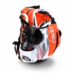 CadoMotus airflow skate backpack orange