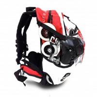 CadoMotus airflow skate backpack red